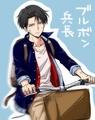 Levi Heichou - anime fan art