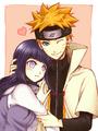Naruto x Hinata - anime fan art