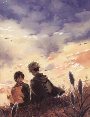 Eren and Jean