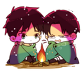 Chibi Ereri - anime fan art