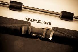 """typewriter """"CHAPTER ONE"""""""