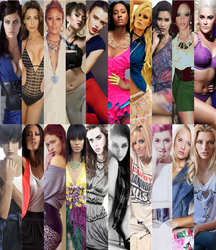 Antm winners Hintergrund titled ALL THE WINNERS