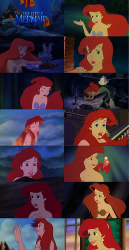 Ariel پیپر وال entitled The Little Mermaid