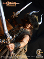 Calvin's Custom one sixth scale Conan the Barbarian Battle of the mounds version MKII
