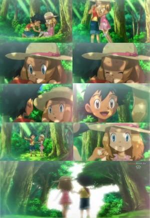 Ash and Serena Childhood