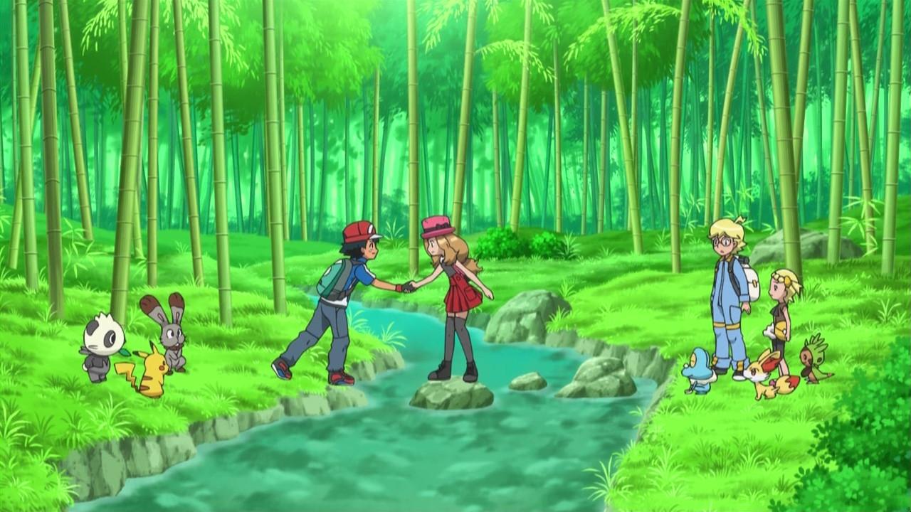 Ash and Serena - Ash a...