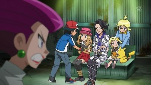 Pokemon Serena Tied Up