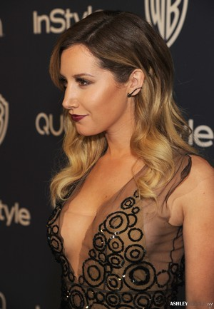 Ashley @  InStyle and Warner Bros. 71st Annual Golden Globe Awards After-Party