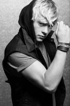 Ross in a Hoodie