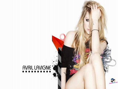 Avril Lavigne Hintergrund possibly with attractiveness and a portrait called Avril Lavigne