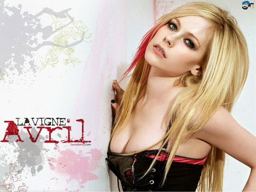 Avril Lavigne پیپر وال containing attractiveness and a portrait entitled Avril Lavigne