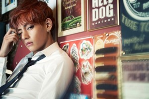 "BTS V ""Skool Luv Affair""!"