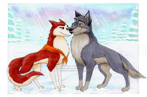 Balto and Jenna....