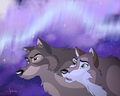 Balto and his daughter Aleu - balto photo