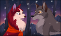 Balto And Jenna - balto fan art
