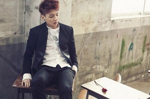 """bangtan boys wallpaper containing a business suit, a suit, and a well dressed person titled Bangtan Boys Jungkook """"Skool Luv Affair""""!"""