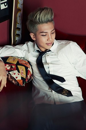 "BTS Rap Monster ""Skool Luv Affair""!"