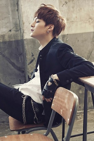 "防弹少年团 Suga ""Skool Luv Affair""!"