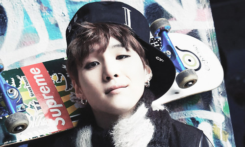 "bangtan boys wallpaper titled Bangtan Boys Suga ""Skool Luv Affair""!"