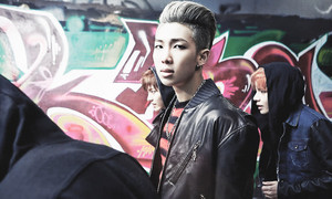 "TS Rap Monster ""Skool Luv Affair""!"