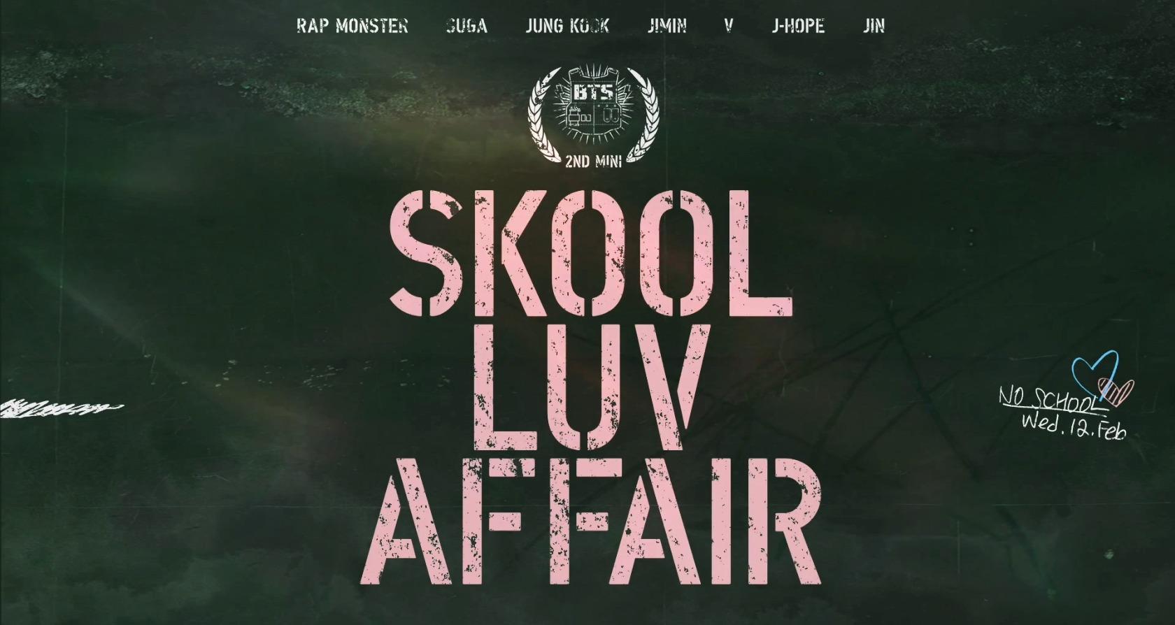 """বাংট্যান বয়েজ """"Skool Luv Affair""""!"""