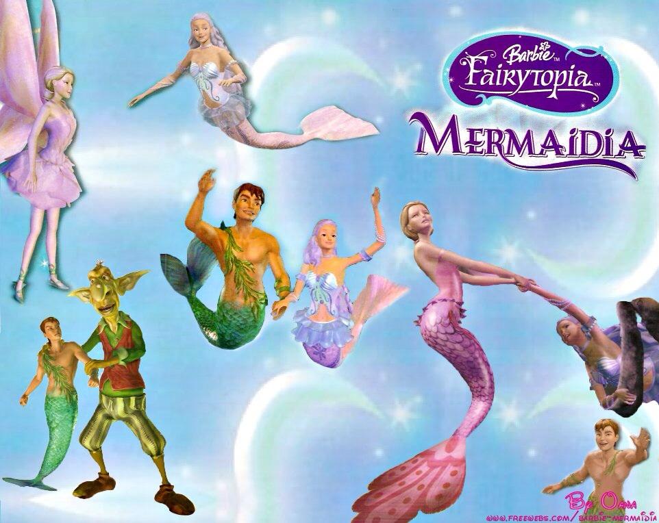 Barbie Fairytopia: Mermaidia images Mermaidi nori,Nalu and