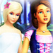 Rosella and Alexa Icon - barbie-movies icon
