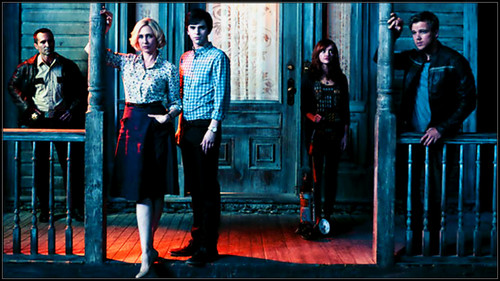 Bates Motel wallpaper containing a business suit and a revolving door titled Bates Motel s2