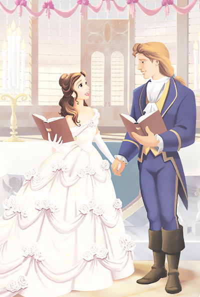 Belle and adam 39 s wedding beauty and the beast photo 36553402 fanpop