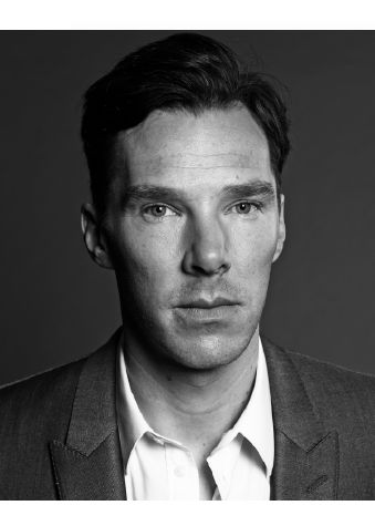 Benedict Cumberbatch wallpaper with a business suit entitled TIME Magazine Outtakes