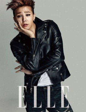G-Dragon for 'ELLE'