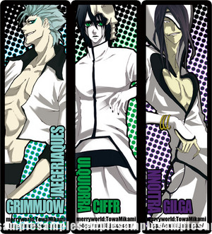 Grimmjow, Ulquiorra and Nnoitra