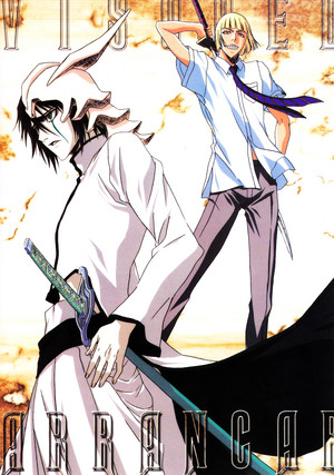 Ulquiorra Schiffer and Shinji Hirako