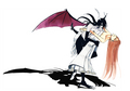 bleach-anime - Ulquiorra and Orihime wallpaper