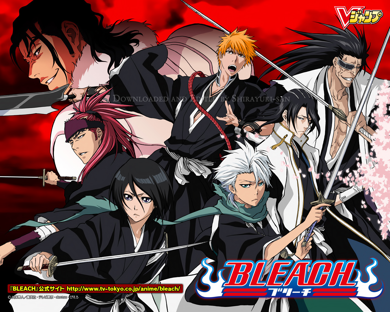 Anime Characters From Bleach : Bleach characters anime wallpaper  fanpop