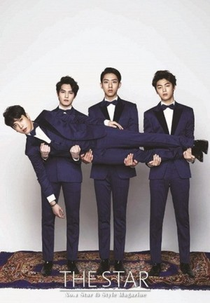 CNBLUE for 'The Star'