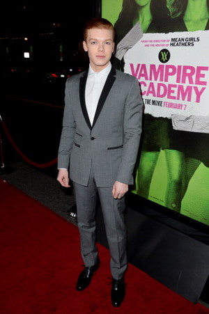 Cameron at Vampire Academy premiere
