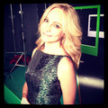 100th episode photoshoot BTS - candice-accola photo