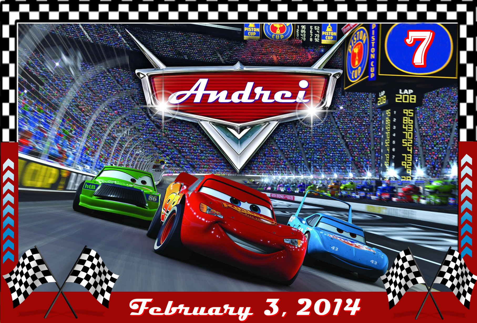 Disney Cars Invitation for amazing invitations sample