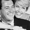 Classic Movies photo containing a portrait titled Rock Hudson and Doris Day