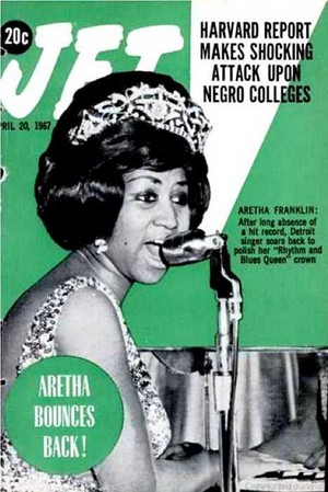 Aretha Franklin On The Cover Of JET Magazine