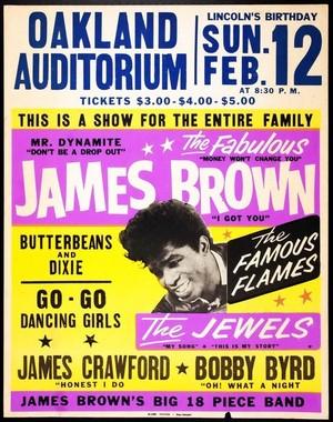 A Vintage konsert Tour Poster