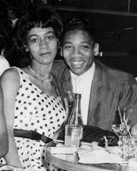 Little Willie John And Wife, Darrylin
