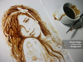 amy-winehouse-portrait - coffee fan art