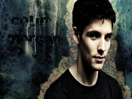 Colin Morgan wallpaper probably with a sign titled Colin Morgan ღ