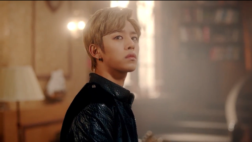 Daehyun Hintergrund probably with a well dressed person, an outerwear, and a hip boot titled Daehyun - 1004(Angel) M/V
