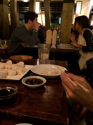 David and Selena sushi date: January 26, 2014