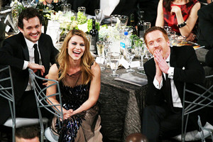Damian Lewis and Claire Danes on SAG Awards