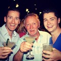 Post show with Paul and Phil - damian-mcginty photo