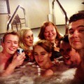 Hot tub Super Bowl - damian-mcginty photo